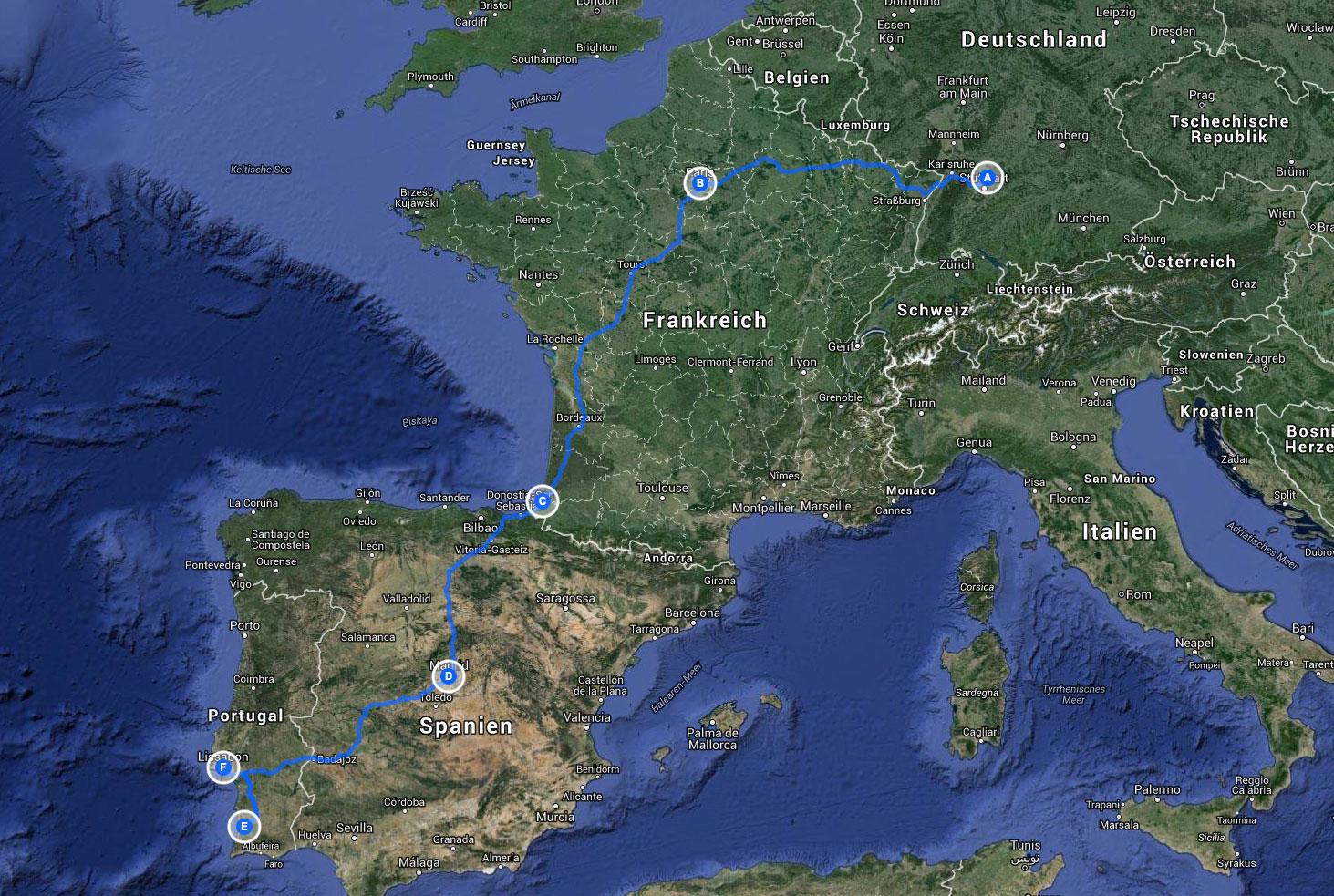 soul-traveller-portugal-alentejo-reisetagebuch-hinfahrt